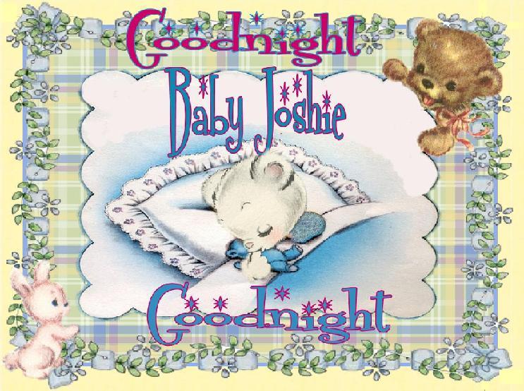 baby josh good night