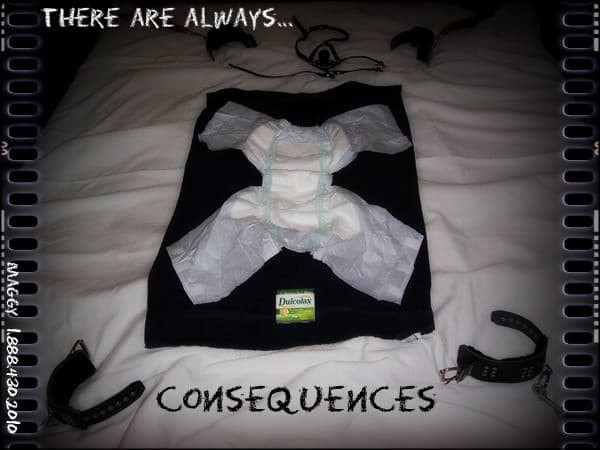 Consequences: A Story in Diaper Punishment consequences and diaper punishment with mommy maggie