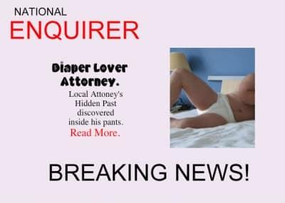 """diaper humiliation"""