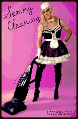 sissy maid  Spring Cleaning Sissies spring cleaning