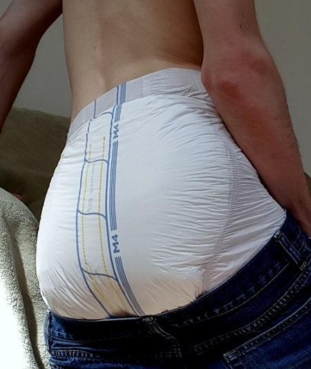 infantilism, diaper boy, diaper play